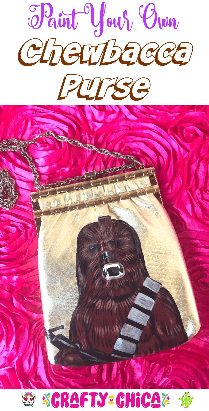 DIY Chewbacca Purse by Crafty Chica.