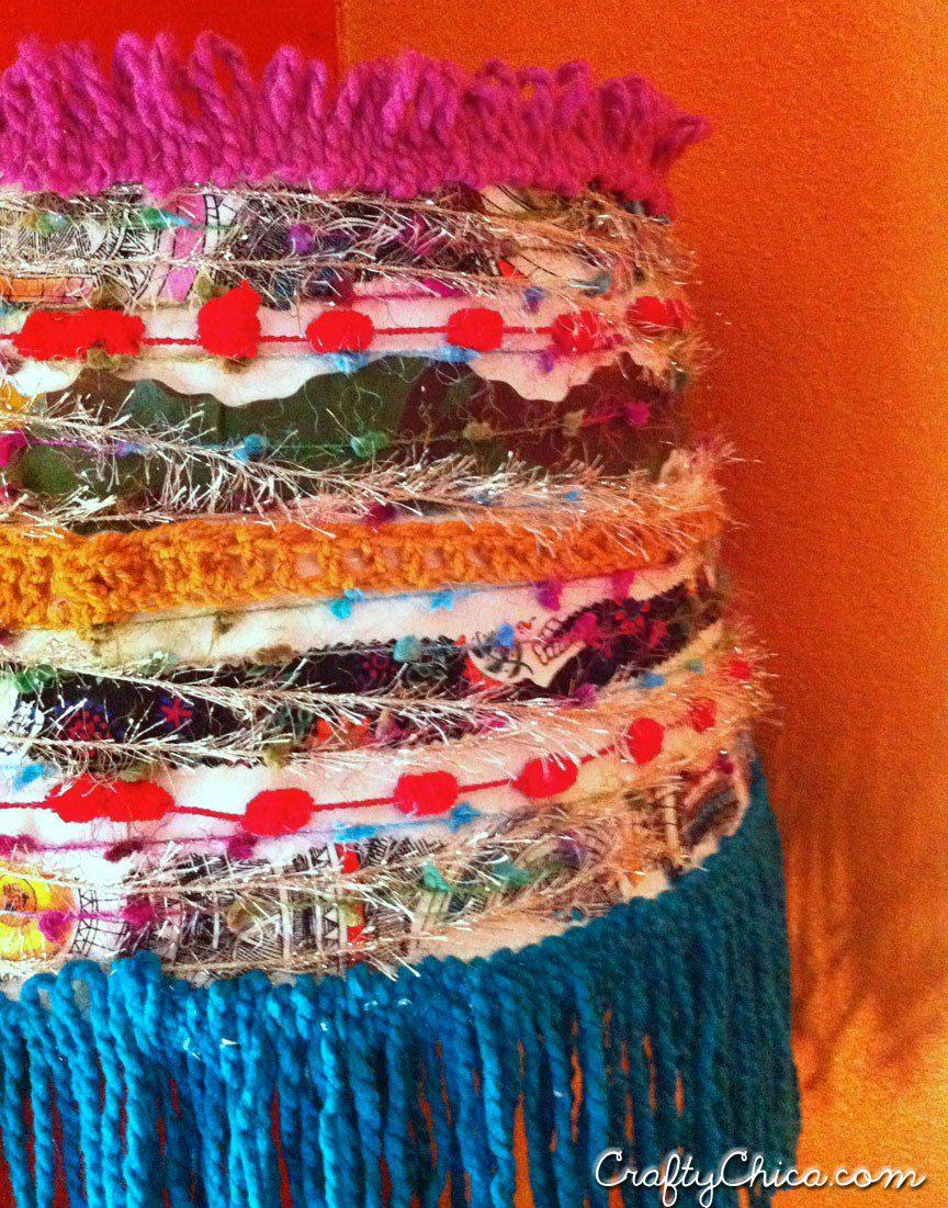DIY Mexi-Boho Lampshade - Crafty Chica™