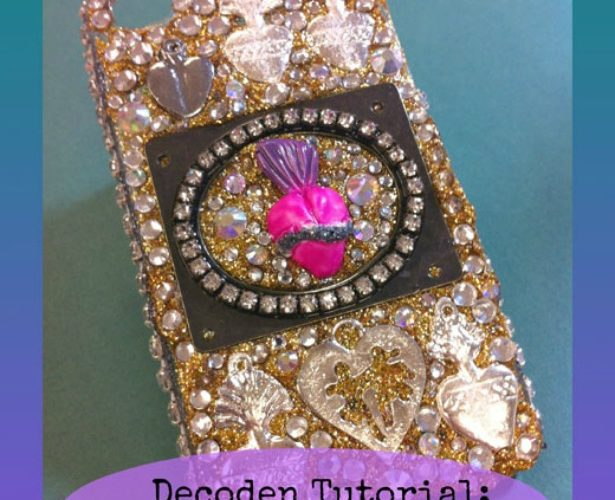 DECODEN: How to add glitter to your silicone! - The Crafty Chica