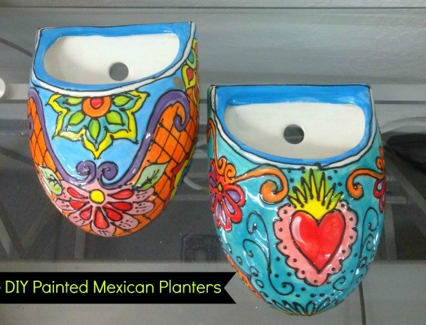Diy Mexican Pottery Planters