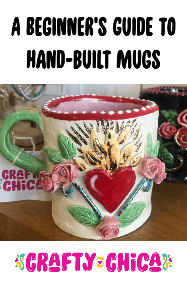 Beginner'sguide to hand built  mugs #craftychica #clay #ceramics