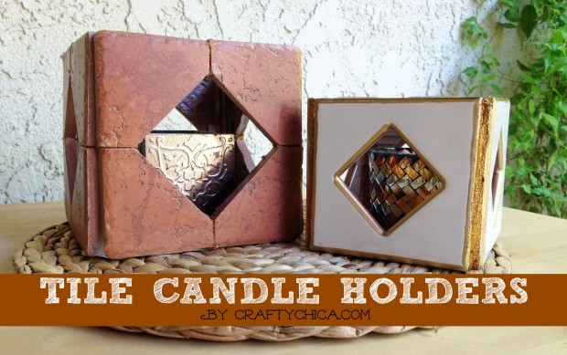 tile-candle-holders