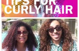 Summer tips for curly hair!