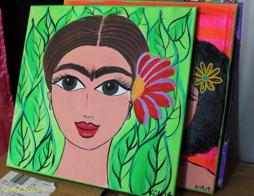 """Giant Eye Frida"" 12x12"""