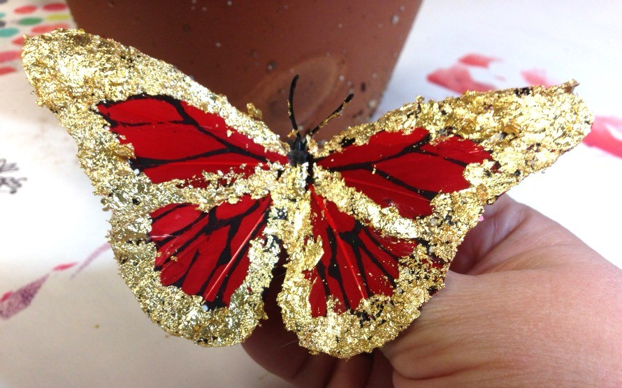 gilded-butterfly-ornaments