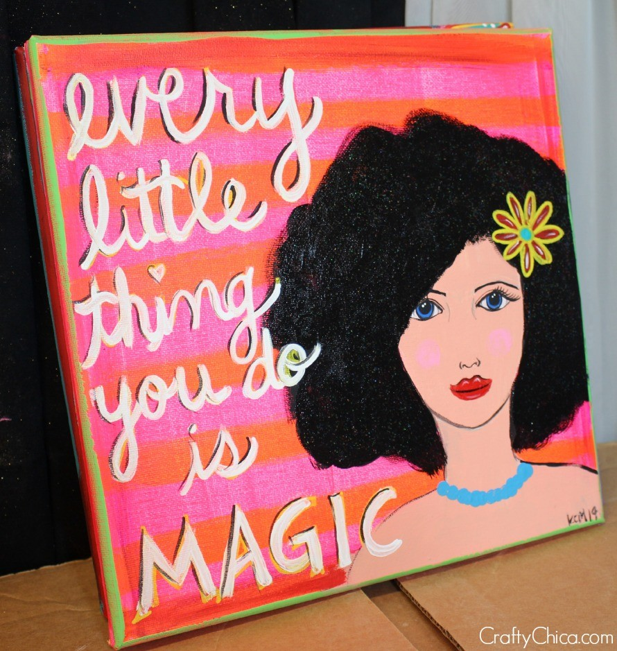 """""""Every Little Thing You Do Is Magic"""" by Kathy Cano-Murillo 12x12"""""""