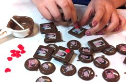 How to make edible photo chocolates by CraftyChica.com