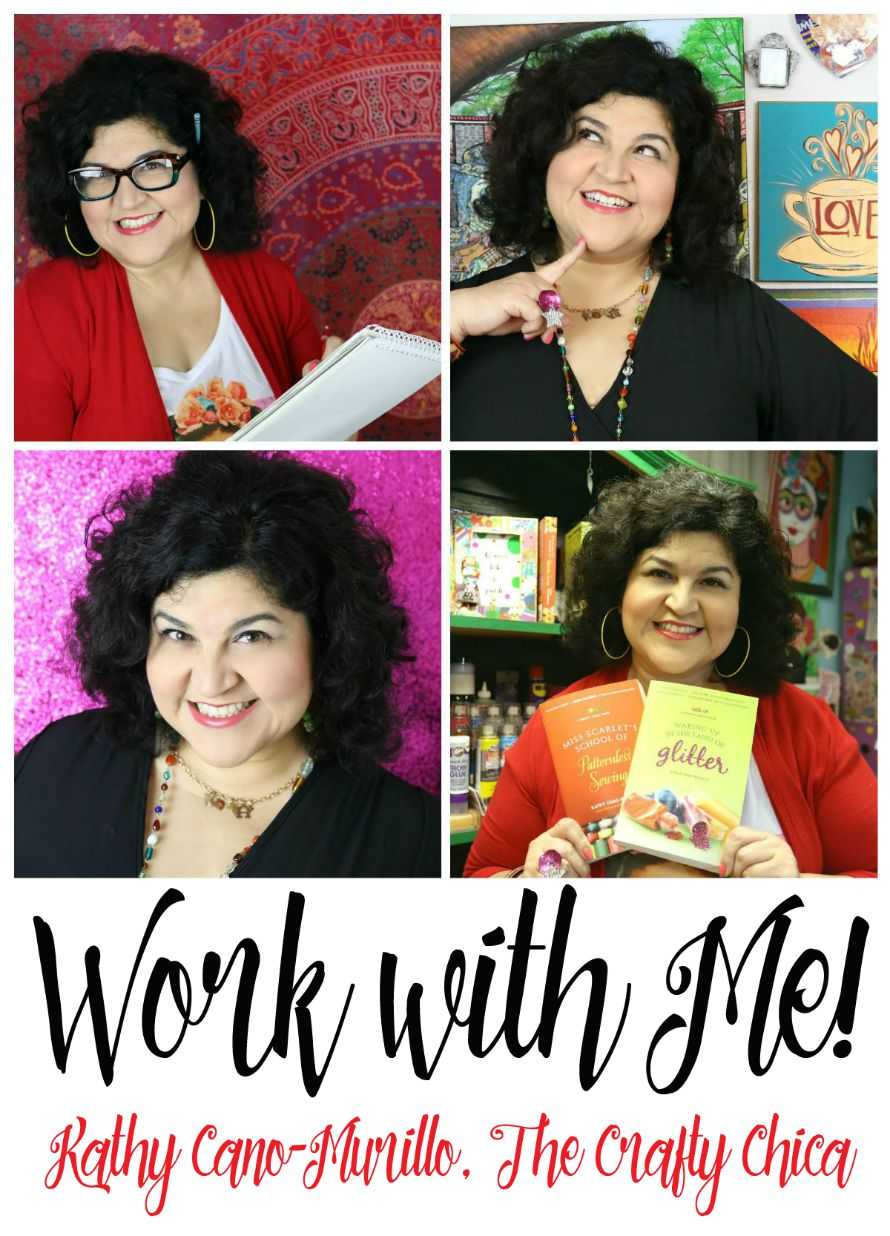 Artist & author, Kathy Cano-Murillo, The Crafty Chica