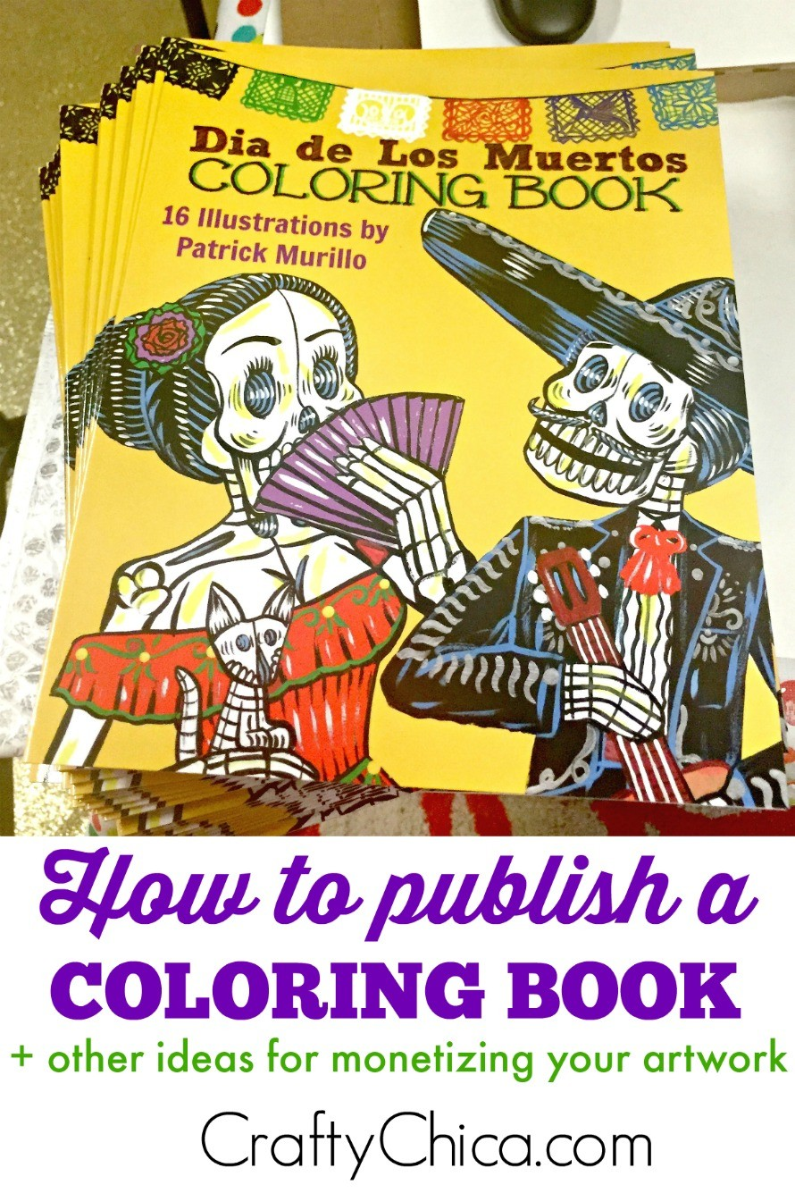 How to publish a coloring book + other monetizing ideas - The Crafty ...