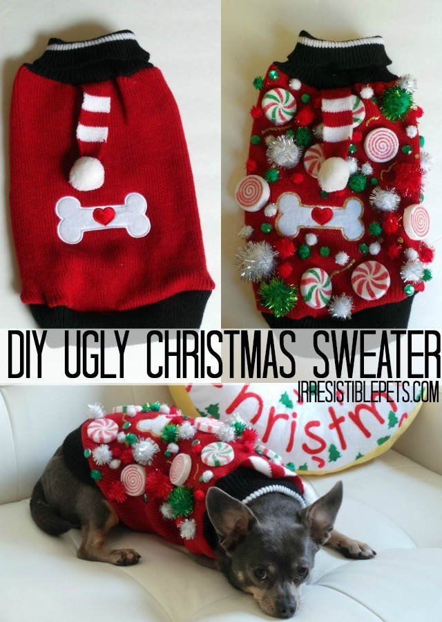 Ugly Christmas Sweater Swag The Crafty Chica