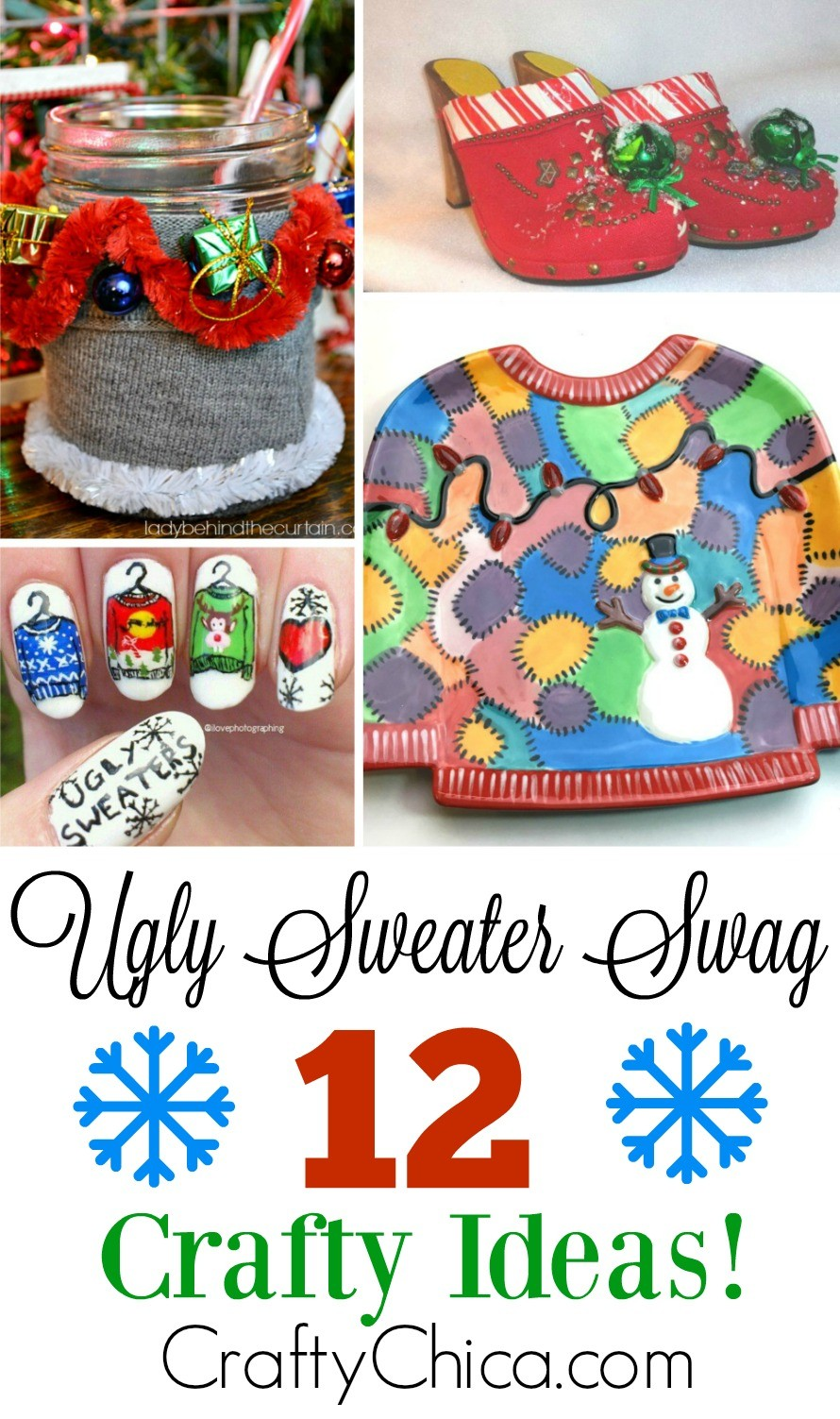 709eec532a13a Ugly Christmas Sweater Swag - The Crafty Chica