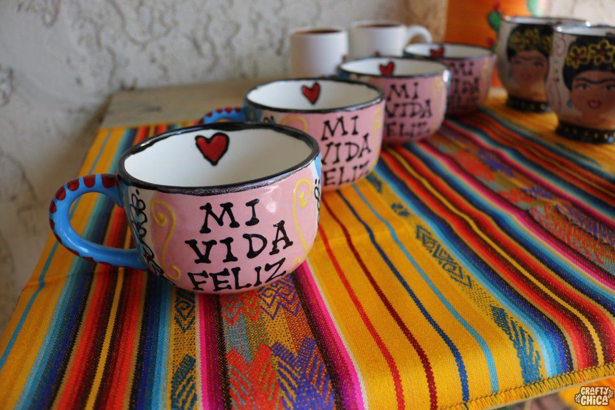 Crafty Chica's mugs