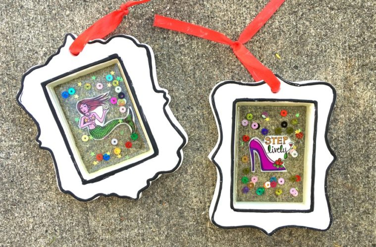 How to make open back resin frames.