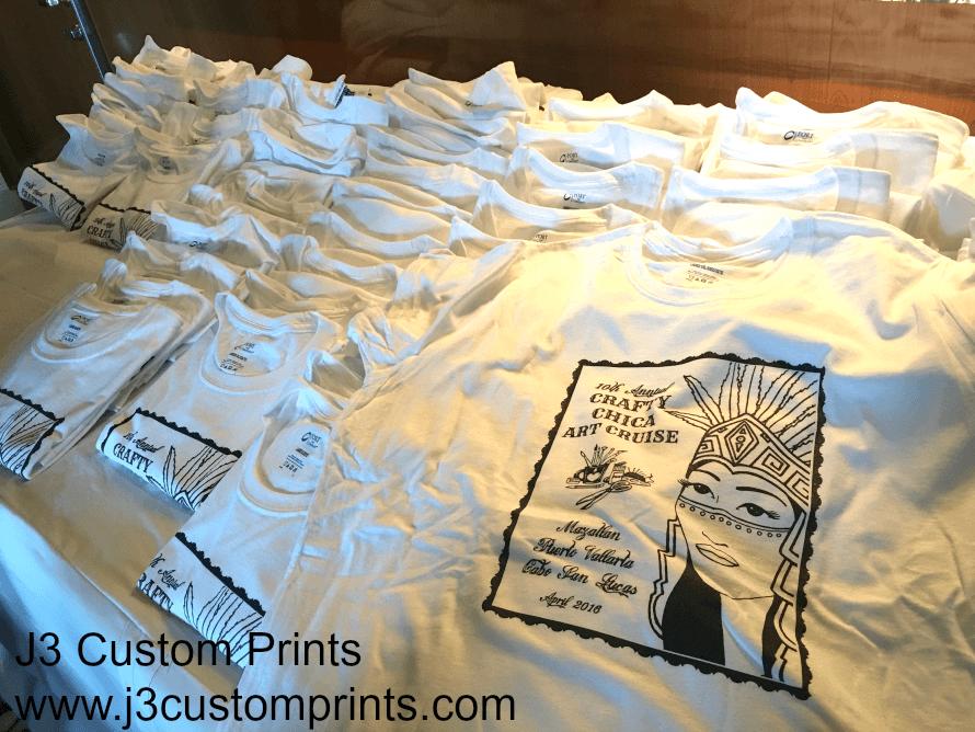 J# Customa print made our shirts!