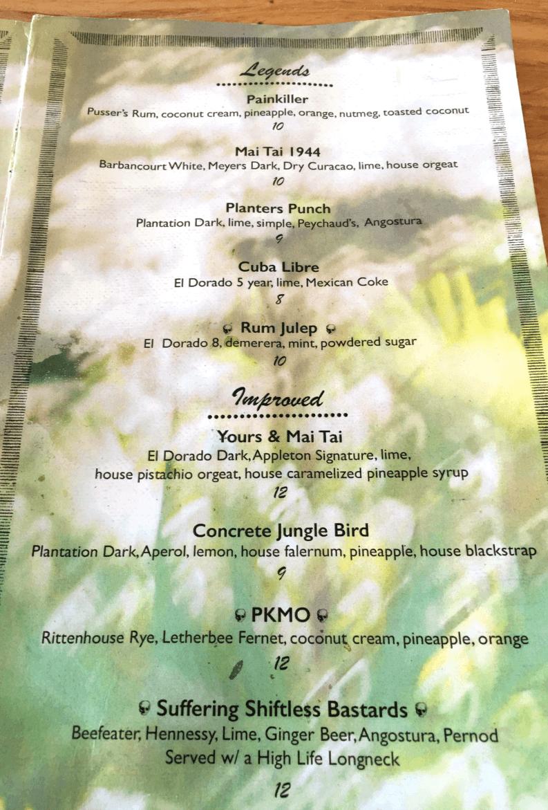 rum-club-menu