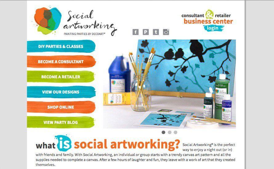 social-artworking