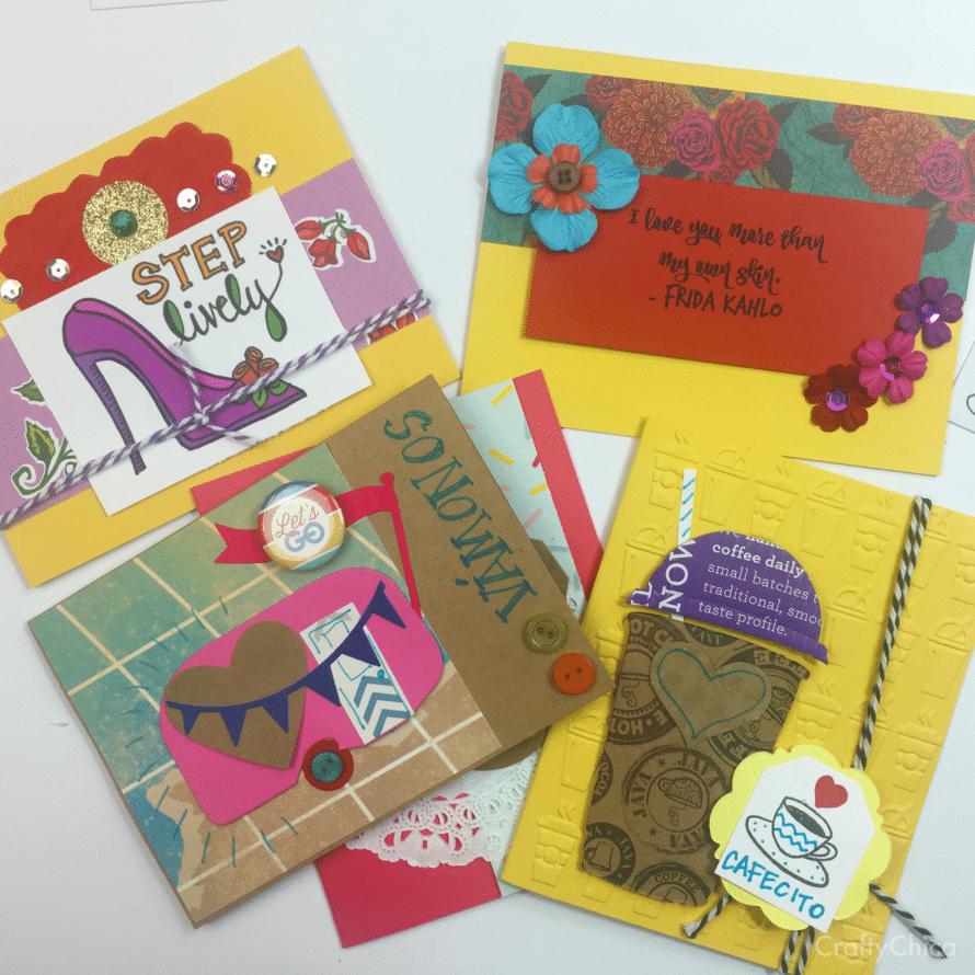 Latina Style Thank You Cards DIY