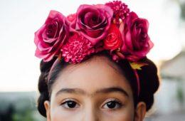 DIY Frida Kahlo costume and/or dress up, CraftyChica.com.