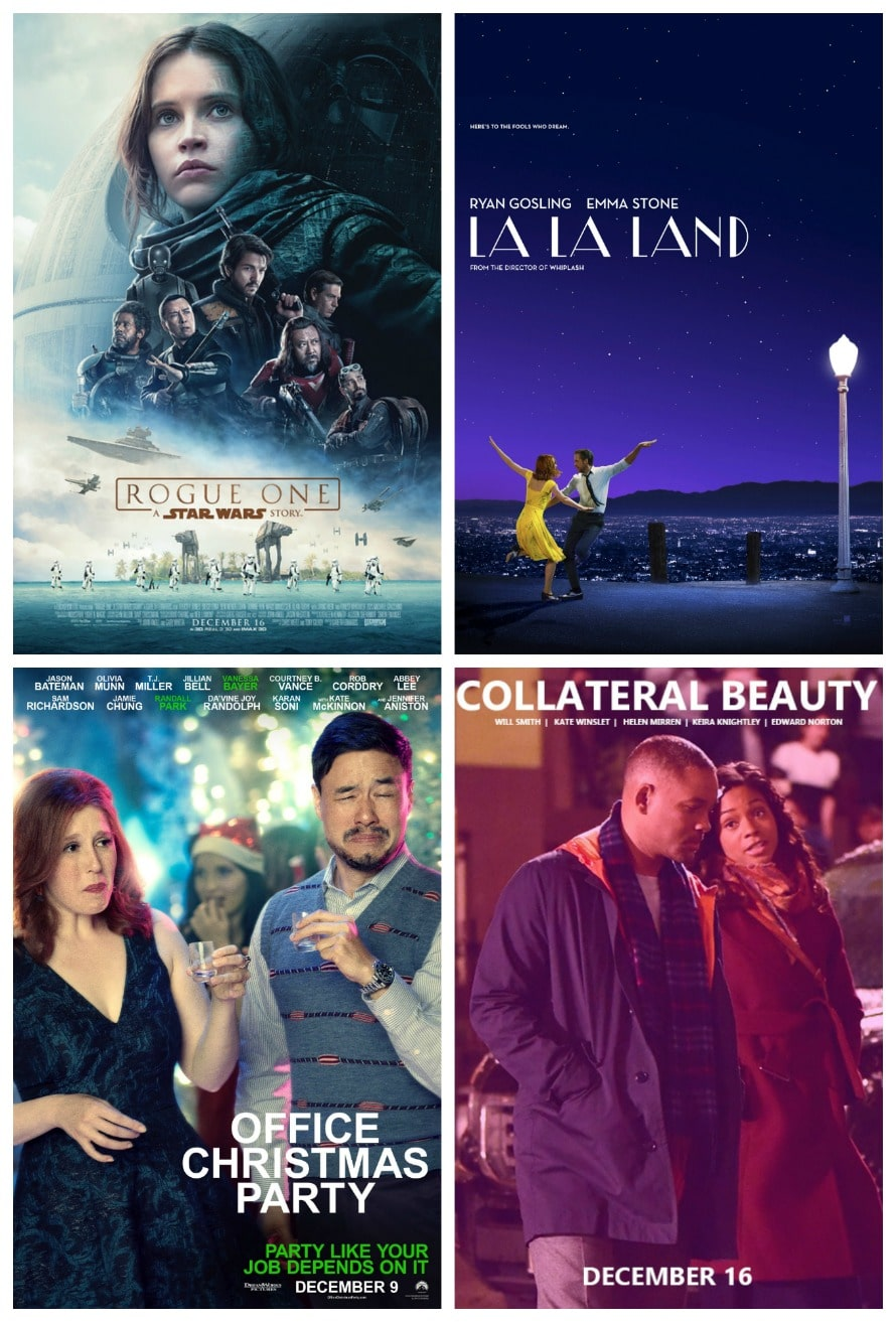 My Reviews: Rogue One, La La Land, Collateral Beauty, Office ...