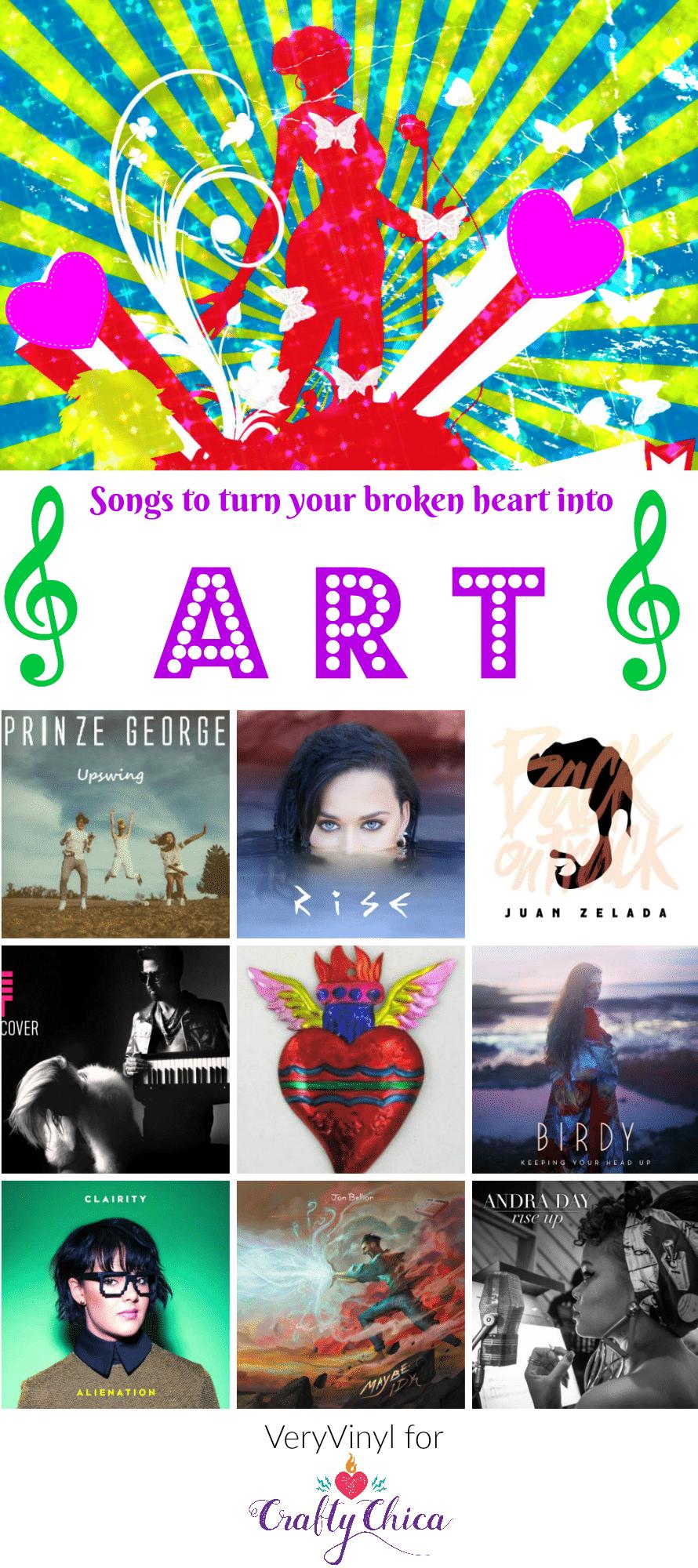 Songs to turn your broken