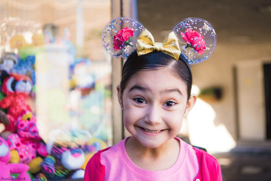 Enchanted rose Mickey ears