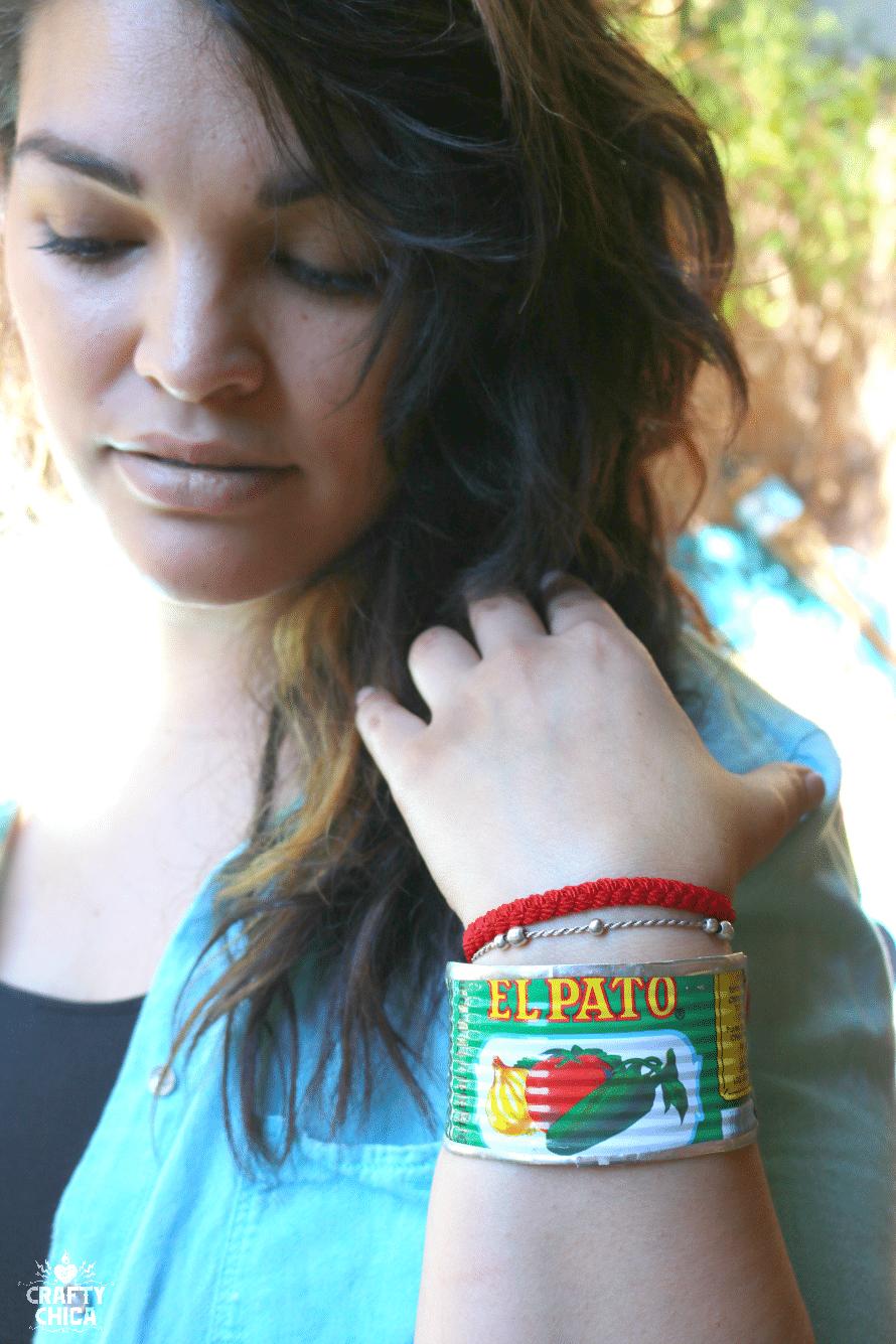 el pato bracelet by crafty chica