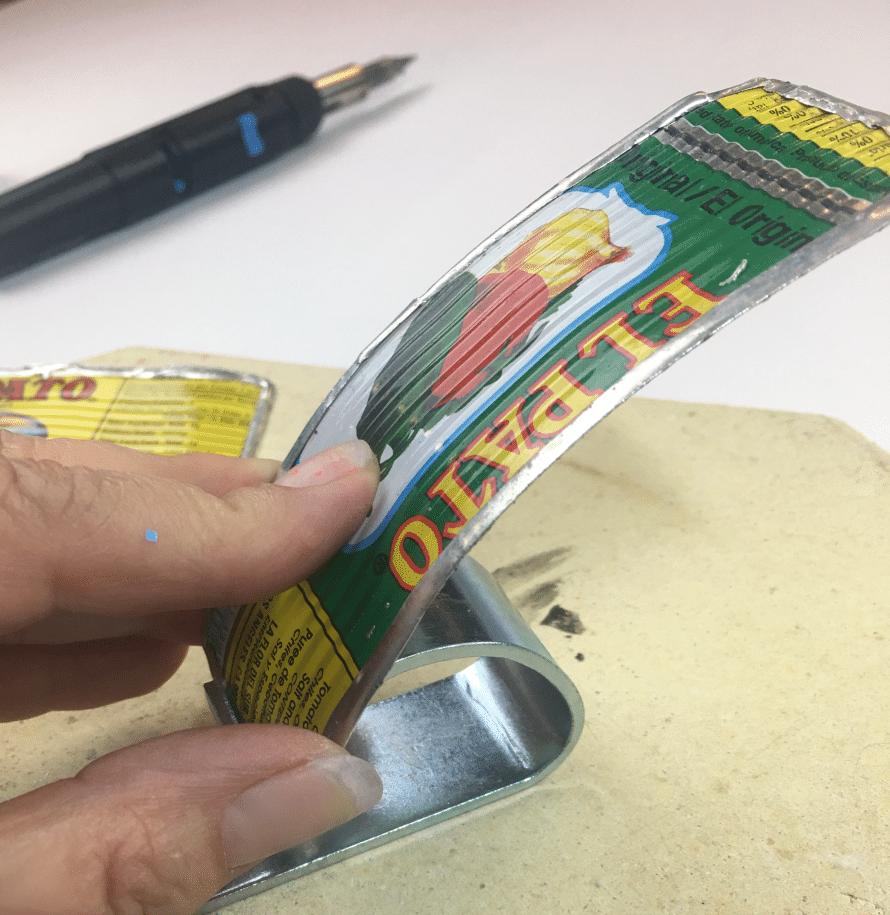 El Pato bracelet by Crafty Chica.