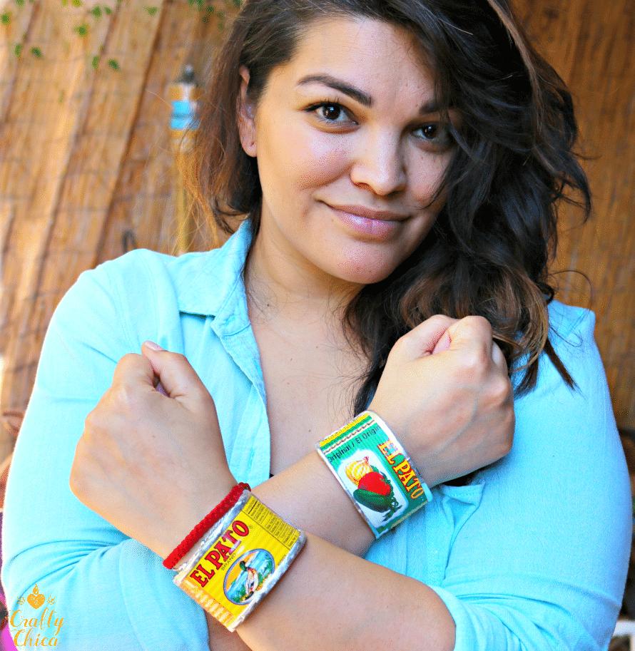 El Pato bracelets by Crafty Chica