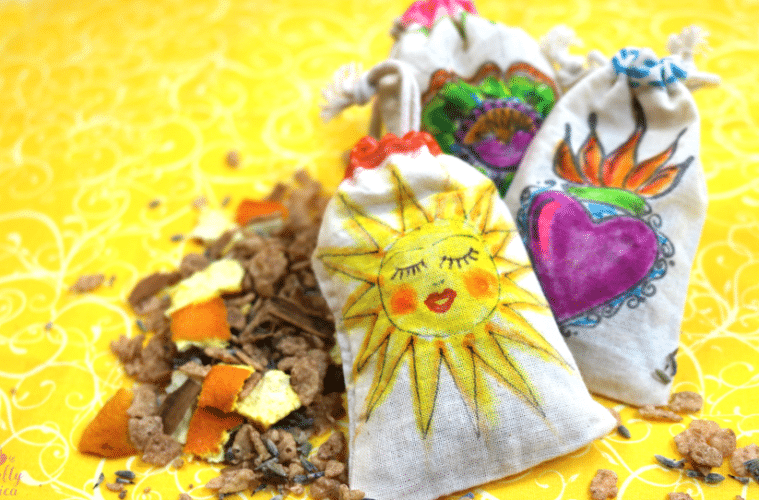 Summer Spice Sachets by Crafty Chica
