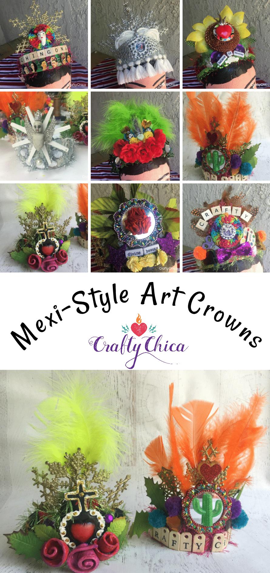 Latinx Art Crowns