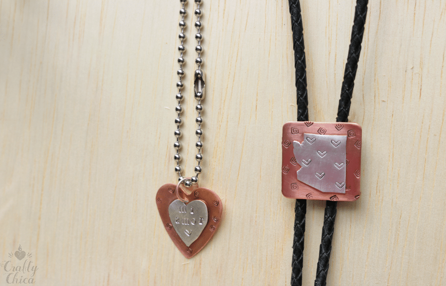DIY Copper & Silver Jewelry by CraftyChica.