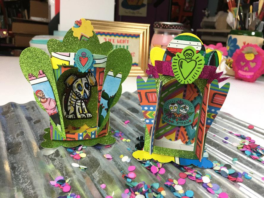 Crafty Chica Shrine die cuts